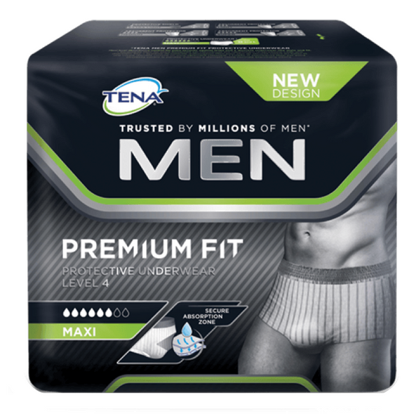 Tena Men Premium Fit Level 4 Medium 12 units
