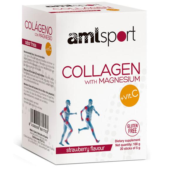 AMLsport Collagen with Magnesium + Vitamin C