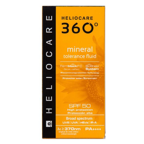 Heliocare 360 Mineral Tolerance Fluid SPF 50