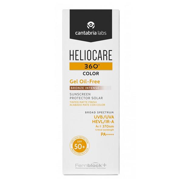 Heliocare 360 Color Gel Oil Free Bronze Intense SPF50