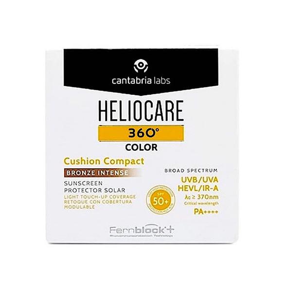 Heliocare 360 Color Cushion Compact Bronze Intense SPF 50+