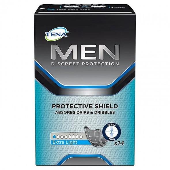 Tena Men Guards Shields Extra Light 14 units