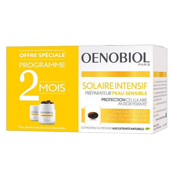 Oenobiol Intensive Sun Sensitive Skin Preparer 2 x 30 Capsules