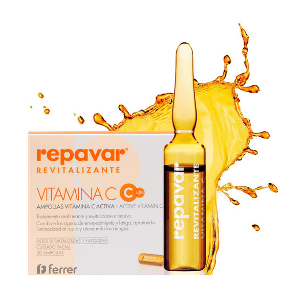 Repavar Revitalizante Active Vitamin C 20 Ampoules