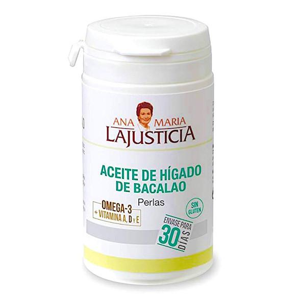 Ana Maria Lajusticia Aceite de Hígado de Bacalao 90 Perlas