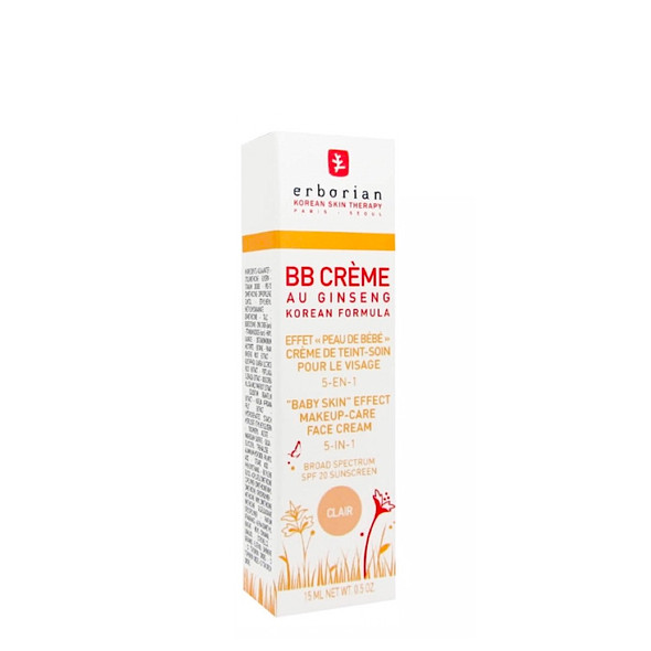 Erborian BB Cream au Ginseng Clair SPF20 15ml