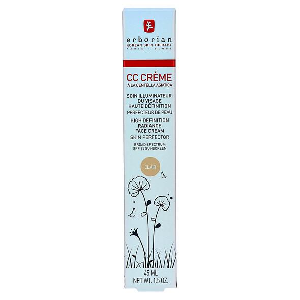 Erborian CC Cream a La Centella Asiatica Clair 45 ml