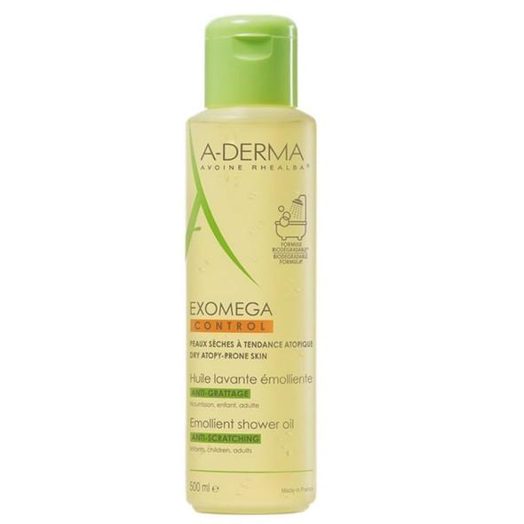 A-Derma Exomega Control Emollient Shower Oil 500ml
