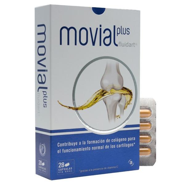 Movial Plus Fluidart 28 cáps
