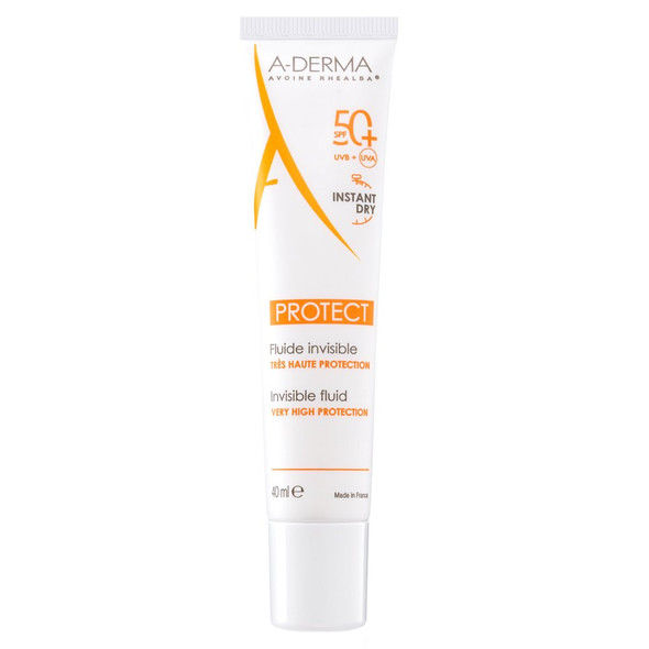 A-Derma Protect Invisible Fluid SPF50 + 40ml