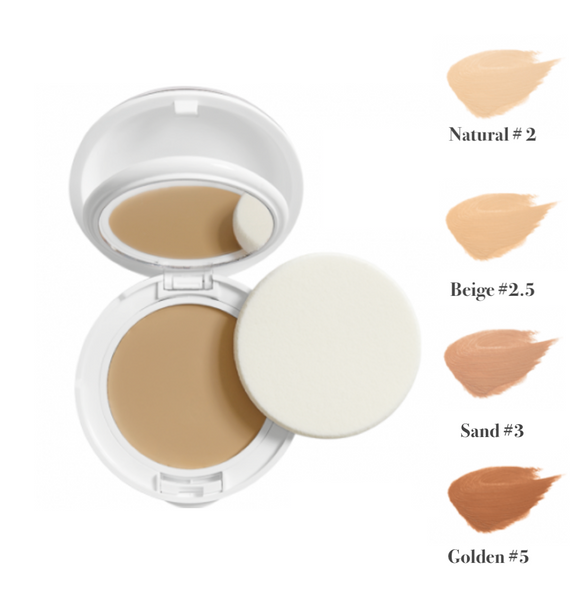 Avène Couvrance Compact Oil-Free Natural # 2 10g