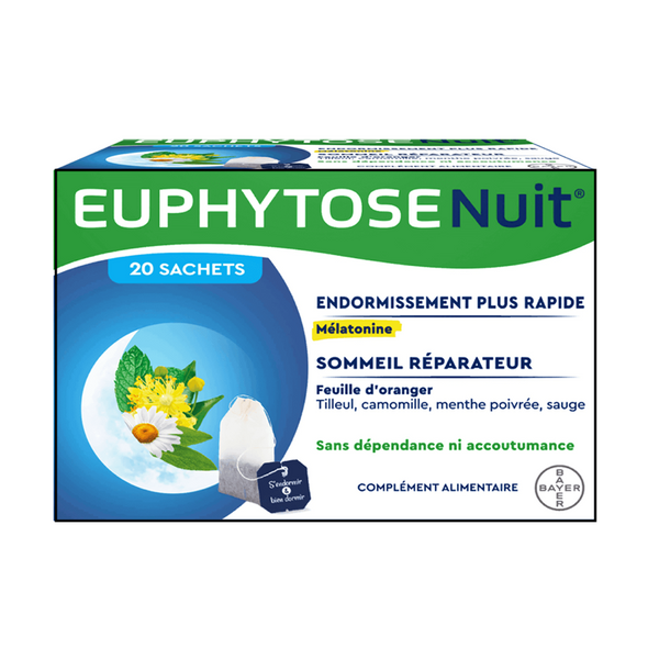 Euphytose Night 20 sachets