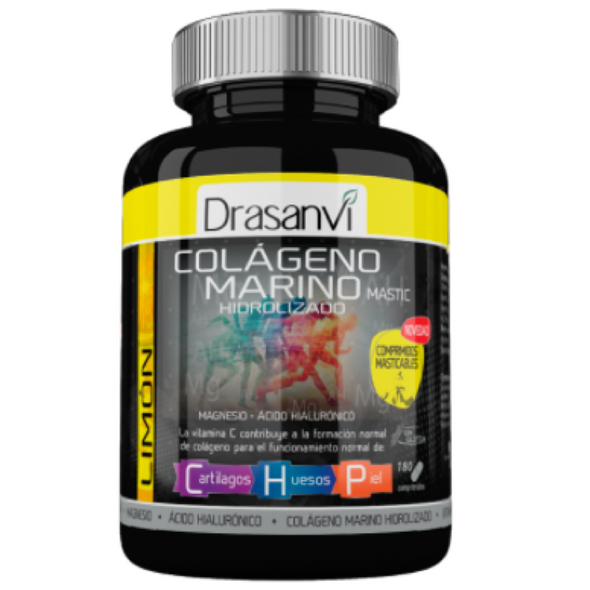 Collmar Marino Collagen with Magnesium Lemon Flavor 180 tabs