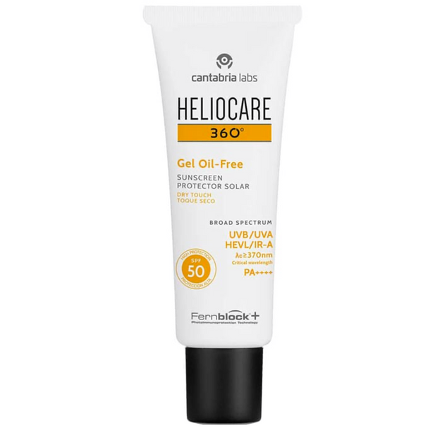 Heliocare 360 Gel Oil-free SPF 50 Dry Touch 50ml
