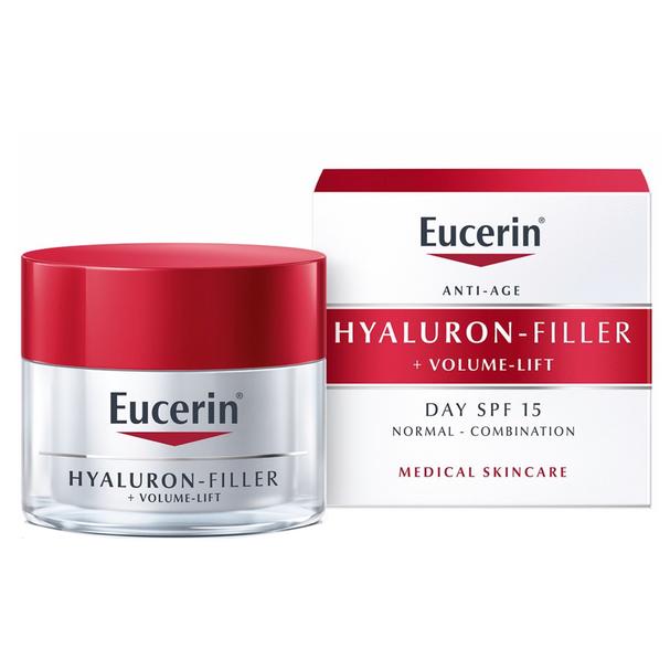 Eucerin Hyaluron-Filler + Volume Lift normal to combination skin 50ml