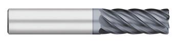 END MILL 1/4 6FL SE VI CR-.015, CARB, ALCRO-MAX, 252388