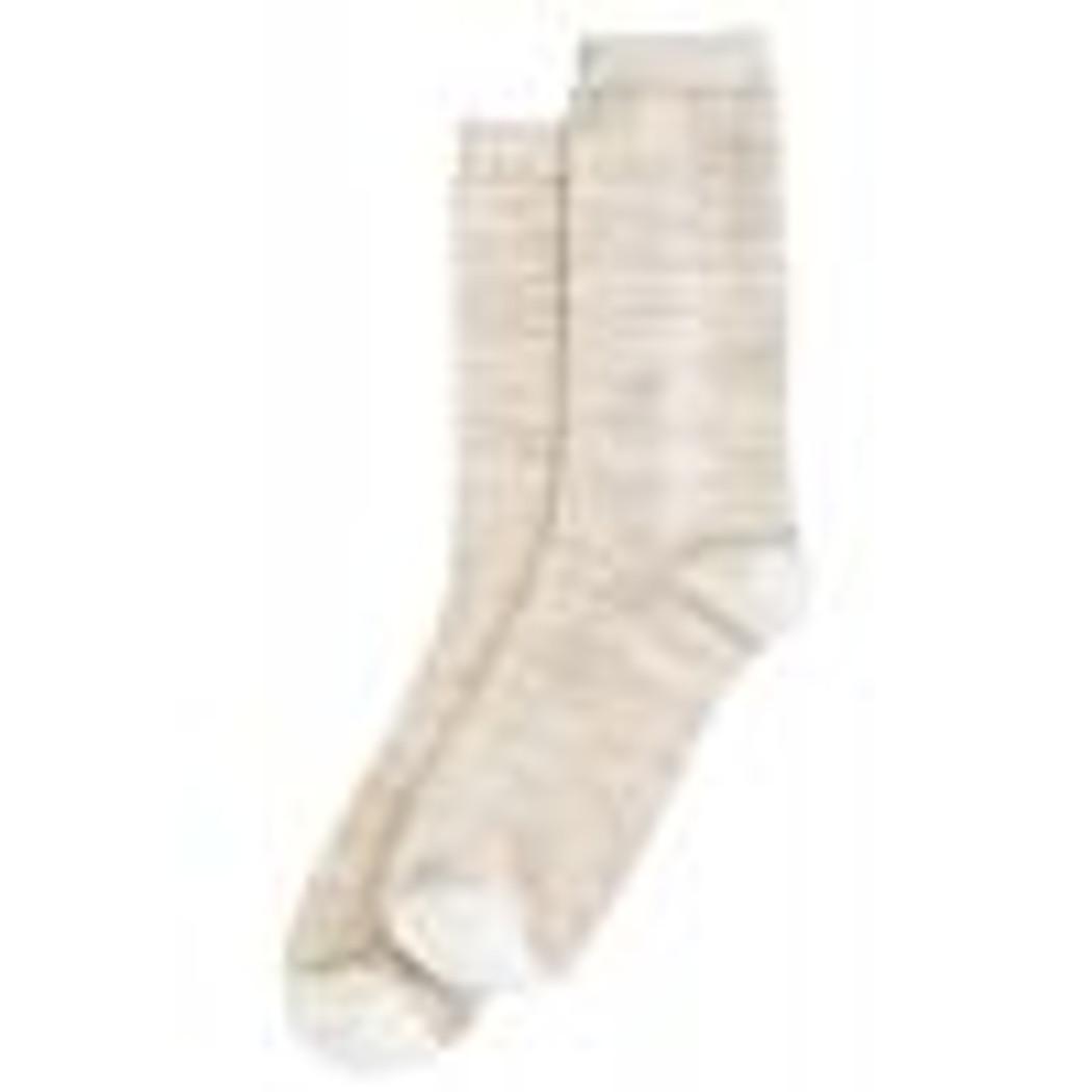 Super Soft Crew Sock Ivory
