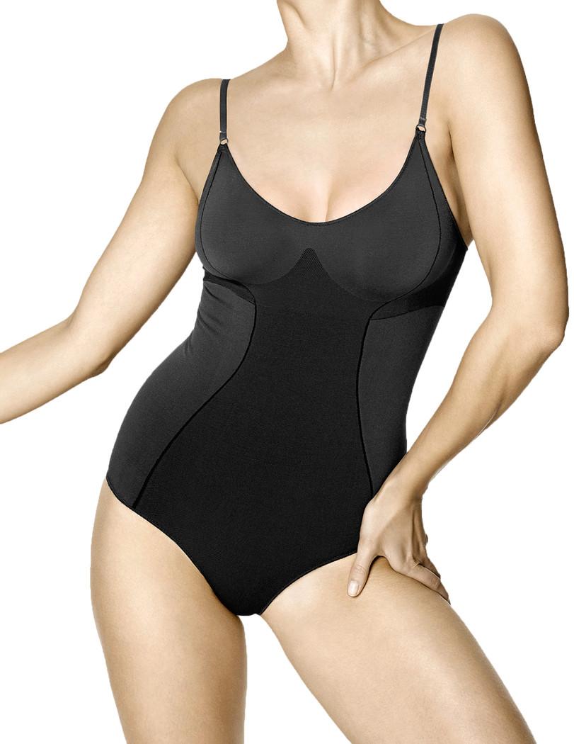 Seamless Shaping Bodysuit Black