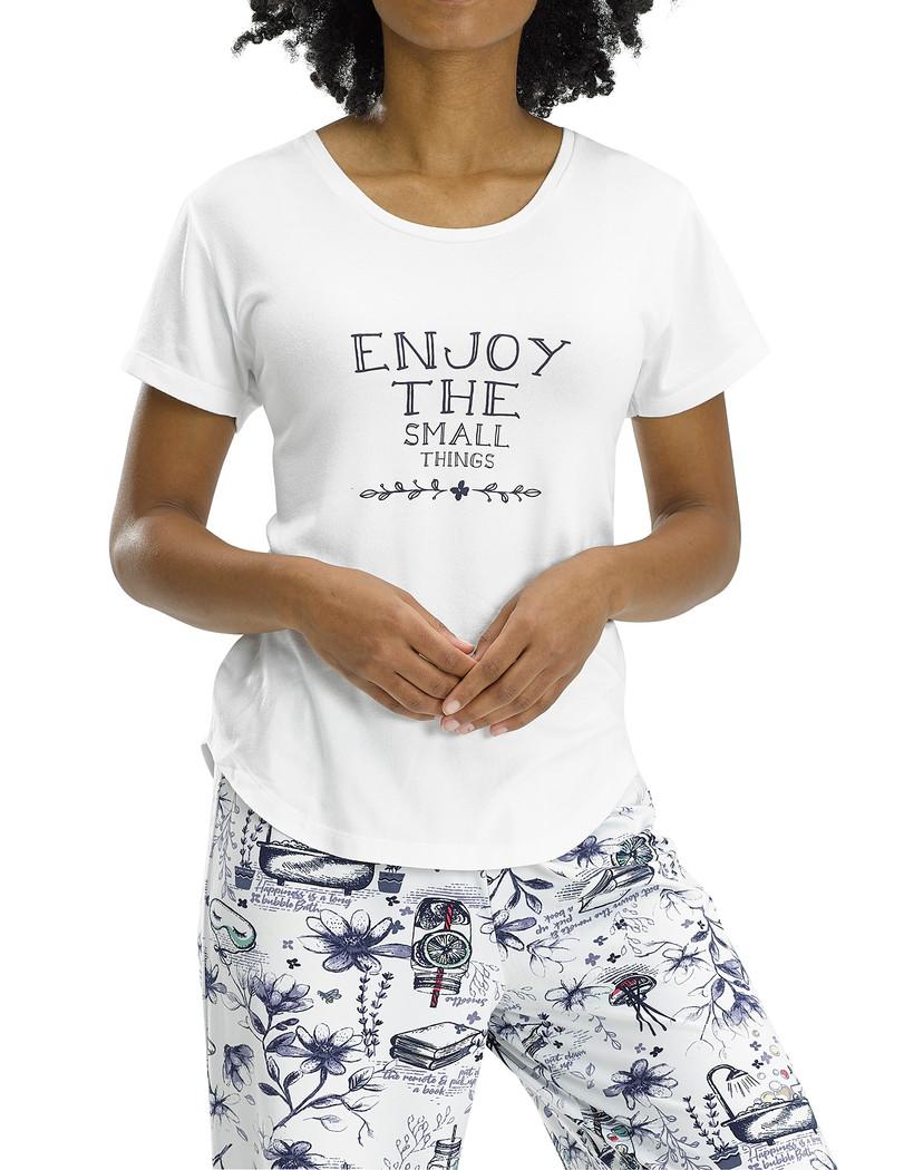 Enjoy The Small Things SS PJ Tee