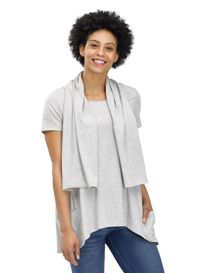 Perfect Protect Short Sleeve Scarf Tee