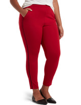 Work Ponte 7/8 Slim Jogger Deep Red