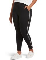 Work Ponte 7/8 Slim Jogger Deep Red