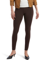 Wide Waistband Blackout Cotton Leggings Grey Heather Small