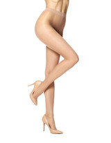Essentials Solutions Clear Control Top Pantyhose Natural 2