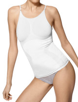 Seamless Shaping Cami White Small