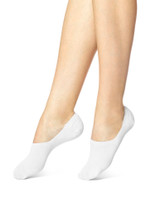 Hi Cut Cotton Sock Liner White, Shoe Sizes 4-10