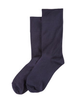 Ultrasmooth Sock Navy, Shoe Sizes 4-10