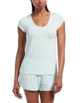 SleepWell Solid Short Sleeve PJ Tee SOOTHING SEA S