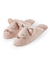 Animal Plush Slide Slippers Seal Small