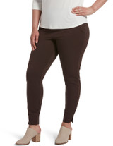 Ponte 7/8 Leggings Black 1X