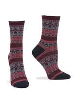 Wintersoft Boot Sock 2 Pk Black Camo, Shoe Sizes 4-10