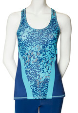 Ventilated Sport Tank, Ink Blue, Small