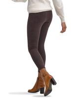 Microsuede Leggings Brown Velvet Medium