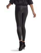Lacy Leatherette High Rise Leggings