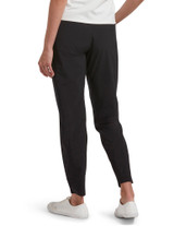 Travel Side Zip Pocket Leggings Black