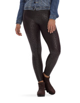Layering Weightless High Rise Leggings Black Leopard Small