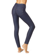 Essential Denim Leggings Stone Acid Wash Extra Large