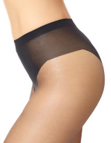 Sheer Tights with Grippers Black