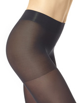 Opaque Tights with Control Top 2 Pack Grey Heather 1