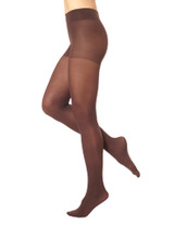 Opaque Tights with Control Top Espresso 1
