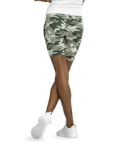 Essentials Camo Cotton Bike Shorts