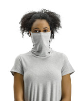 Perfect Protect Short Sleeve Mask Tee Light Grey Heather S