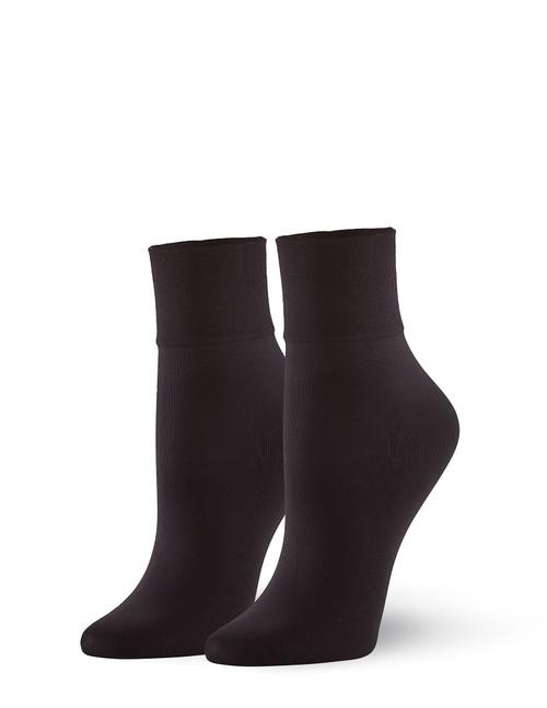 Sleek Midi Sock Black