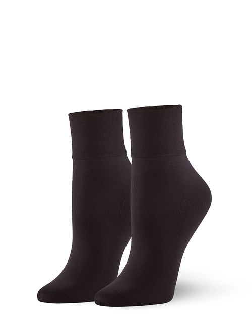 Sleek Midi Sock Black