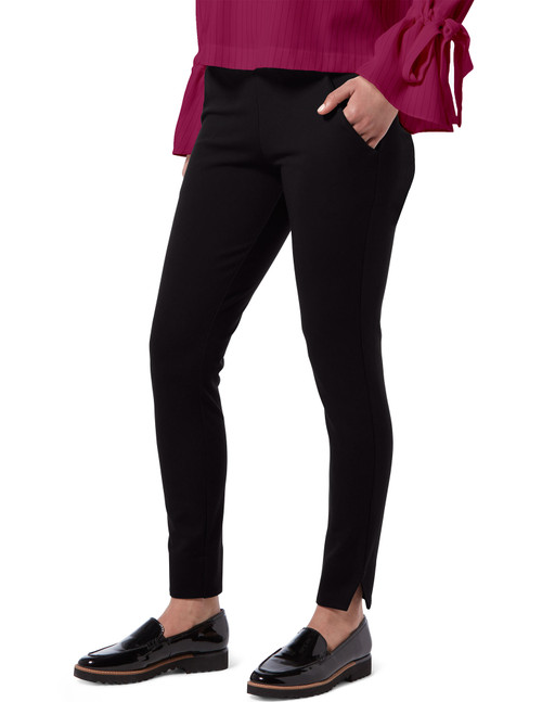 Curvy Ponte 7/8 Leggings Black