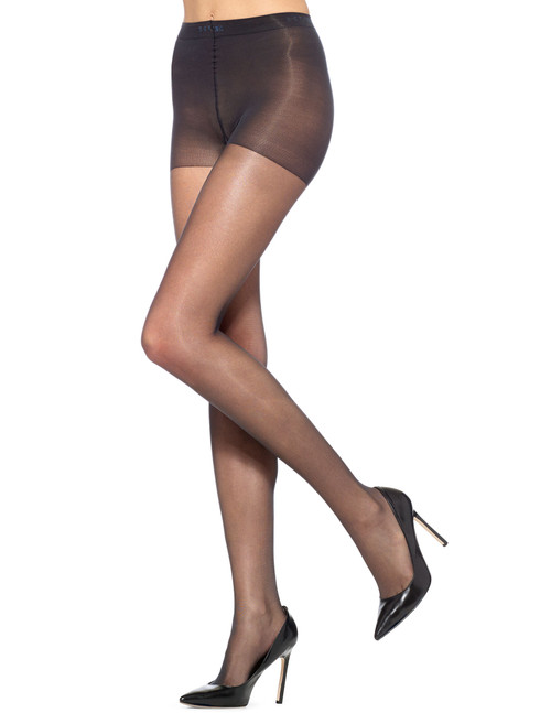 Age Defiance Control Top Pantyhose Black